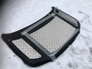Land Rover Freelander 1 Bonnet Aluminium Chequer Plate Kit Protection Upgrade