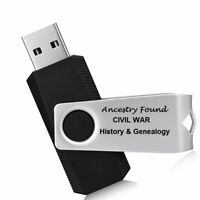 1004 Civil War Books - Ultimate Collection - History Genealogy - FLASH DRIVE USB