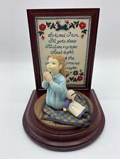 "Willitts Amish Heritage ""Caroline'S Bedtime Prayer"" Limited Edition # 30043 Iob"