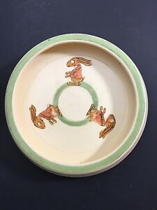 Roseville Juvenile Rabbit Bunny Childs Plate 8""