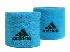 Adidas Single Width Wristbands - Blue - Free P&P
