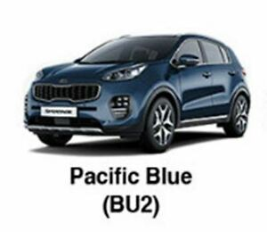 KIA OEM Touch-up Brush & Pen Paint(Color Code: BU2 - Pacific Blue) fit Sportage