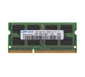 For Samsung 1GB 2GB 4GB DDR2 DDR3 PC2-5300 6400 PC3-8500 Laptop Memory RAM Lot