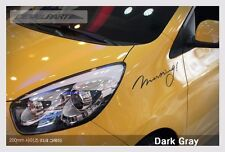 Detail Part Decal 6Colors 200mm 1Ea For Kia Picanto Morning