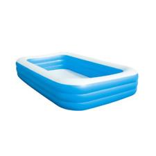 Bestway 54009 Piscina Family Rettangolare 3 Anelli 305cm - Blu