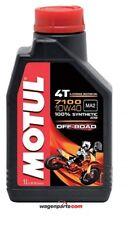 Aceite motos Motul 4T 7100 10w40 off Road Ma2 1 litro