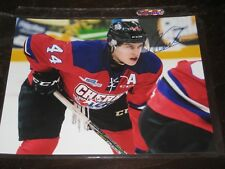 """MAXIME COMTOIS autographed TEAM CHERRY """"Top Prospects Game"""" 8x10 photo"""