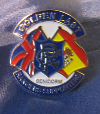 Glasgow Rangers Football Club badge Benidorm Rangers Supporters