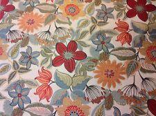 Fabricut Woven Tropical Floral Upholstery Fabric- Novella/Jungle 5 yds (1243801)
