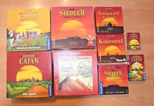 Spiele Konvolut - Die Siedler von Catan - Kartenspiele - Würfelspiel - Kosmos