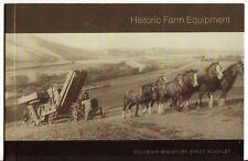 Neuseeland 2004 Farm Equipment Prestige Broschüre nicht gefaßt postfrisch