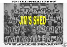 PORT VALE F.C.TEAM PRINT 1960 (SPROSON/GATER/LOWE)
