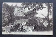 Carte postale ancienne CPA PAU - Le Château vu du Parc