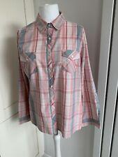 BNWT Dash 100% Cotton Checked Shirt Size 16