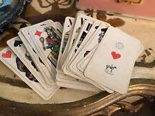 ANTIQUE 1800-1900 TAROT FERD. PIATNIK & SON WIEN Playing Cards Rare