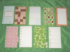 Compact 1 Year Undated Refill Lot Angela Adams Fill Planner Franklin Covey