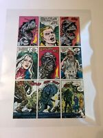 SWAMP THING #73 Original Acetate ART CONSTANTINE transformation page WICKED COOL