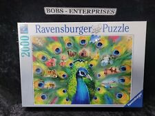 Ravensburger 2000 piece Land of the Peacock jigsaw puzzle 165674  P-6