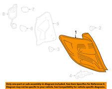 TOYOTA OEM 15-16 Yaris-Taillight Tail Light Lamp Assy Left 815610D620