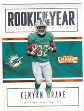 2016 Panini Contenders Rookie of the Year Contenders #14 Kenyan Drake Dolphins