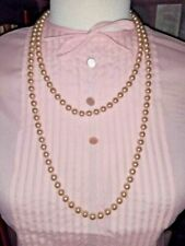 1950s Costume Pearl Necklaces