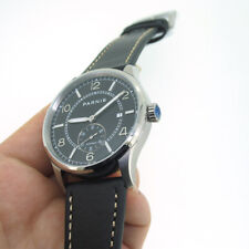 41mm Parnis Small Second Automatic Movement Men's Casual Watch Luminous Marker