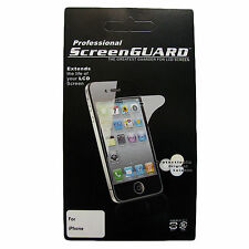 3x Clear Screen Protector Cover Front Film Guard for Apple iPhone 4S 4 4G