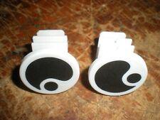 Silver Logo GP1 NEW Ergon Replacement Handlebar Grip End Plugs