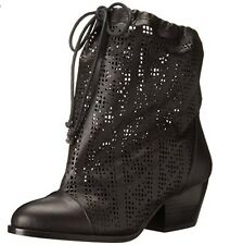 VIVIENNE WESTWOOD ANGLOMANIA CAMILLA ANKLE BOOT LEATHER BLACK SIZE 35 EU