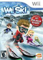 We Ski - Nintendo  Wii Game