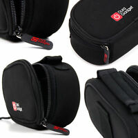 Black Neoprene Zip-Locked Camera Carry Case for LEICA D-LUX / M EDITION 60 / X