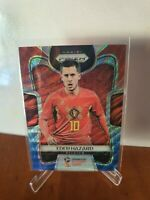 2018 Panini Prizm World Cup Base #13 Red/Blue Wave -  Eden Hazard