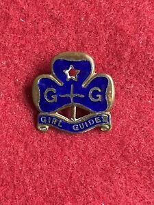 Very Old C1930s Vintage Girl Guides Sea Rangers Enamel Pin Badge