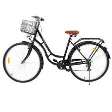 28 Zoll Citybike Stadt Fahrrad Damenrad SHIMANO 7 GÄNGE Damen Shopping Fahrräder