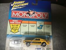 Johnny Lightning Monopoly Die Cast Metal 1:64 car Yellow Community Chest Mustang