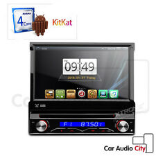 "XTRONS 7"" HD 1 DIN Quad Core Car Stereo Android 4.4 DAB+ GPS OBD2 WiFi DVR D714A"