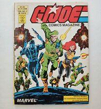 G.I. JOE COMICS MINI MAGAZINE DIGEST # 2 (FEB 19887) Marvel Reprints Comic FN VF