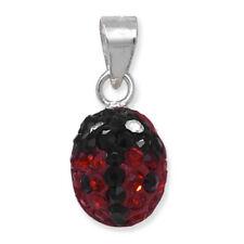 Collares y colgantes de bisutería colgantes de cristal de color principal rojo