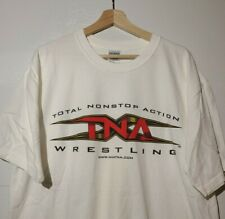 TNA T-SHIRT Sz XL WCW VINTAGE WRESTLING WWE NWO RARE 90s Sport Wrestlemania