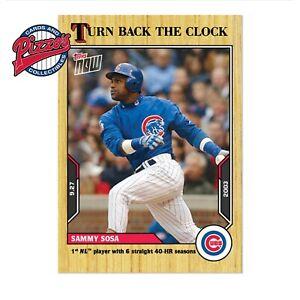 Sammy Sosa - 2021 MLB TOPPS NOW® Turn Back The Clock - Card 180 Presale