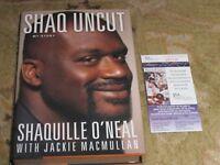 Shaquille O'Neil Shaq UnCut Autographed Book JSA Certified