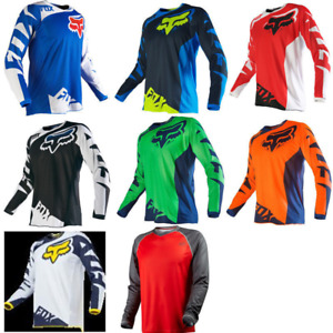 FOX Race 180 Riding Jersey T shirts Tee Men's Motocross/MX/ATV/BMX/MTB Dirt Bike