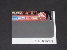 389 T4 1. FC NÜRNBERG PANINI FUSSBALL 2006-2007 BUNDESLIGA FOOTBALL
