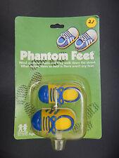 1980 vintage TOMY windup PHANTOM FEET wind up toy sneakers MOC mip RARE shoes !!