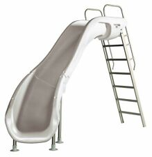 S.R. Smith 6102095822 Rogue 2 Pool Slide Left Curve - White