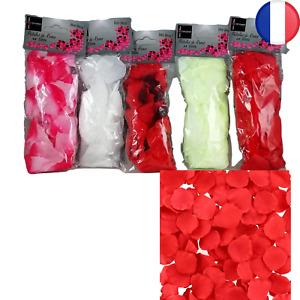 Lot de 1000X Pétale de Rose en Tissu Mariage Anniversaire Valentin Romantique