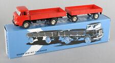 Märklin (Germany) Replica Series 18035 Krupp Flatbed Truck & Trailer *MIB*