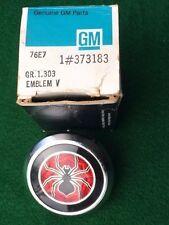 1976-1979 CHEVY Monza SPYDER FRONT Emblem GM # 373183 - NOS DISCT! NEW IN BOX!