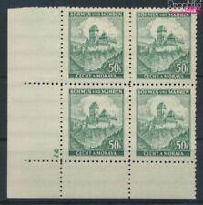Bohemen en Moravië 26 met Nummerplaat postfris MNH 1939 Kasteel Karls (9310349