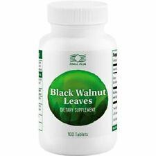Black Walnut Leaves  Coral Club 100 tablets BRAND NEW